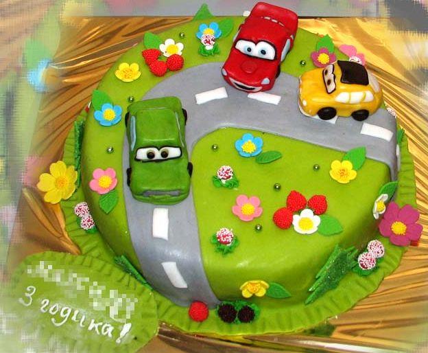Детские торты для мальчиков с фото